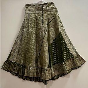 Jamawaram Silk Lehenga/Skirt